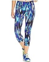 Calvin Klein Womens Printed Athletic Capri Leggings