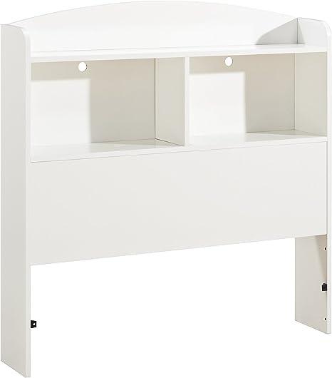 Pure White 39 South Shore Logik Twin Bookcase Headboard
