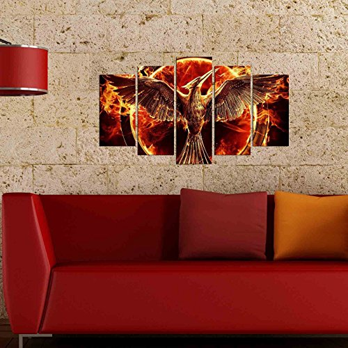 LaModaHome Movie MDF Wall Art, The Hunger Games