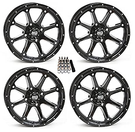 Amazon sti hd4 utv wheelsrims black 14 polaris rzr 1000 xp sti hd4 utv wheelsrims black 14quot polaris rzr 1000 xp ranger xp sciox Gallery