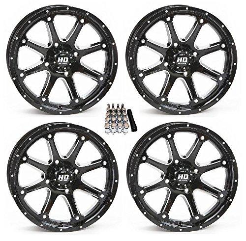 Lug Wheel Center Cap (STI HD4 UTV Wheels/Rims Black 14