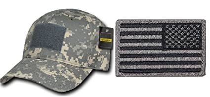 Image Unavailable. Image not available for. Color  Ultimate Arms Gear ACU  Digital Camo Cap + USA FLAG PATCH ... 8eeedc3be7e