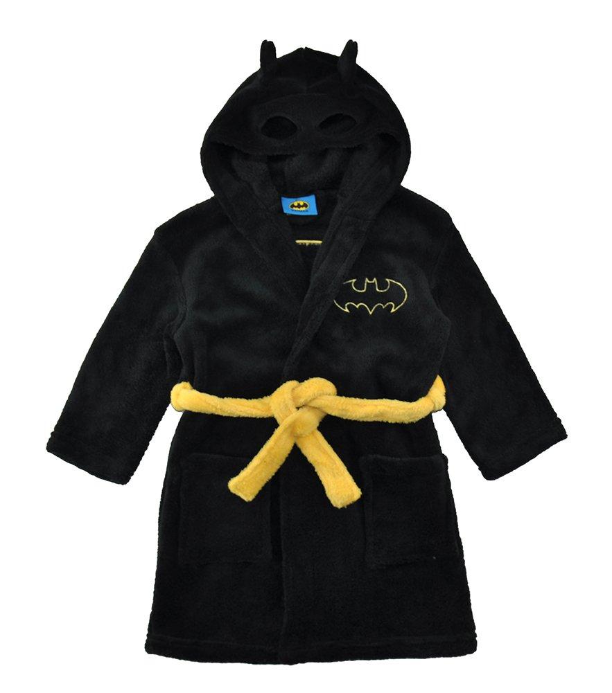 DC Comics Little/Big Boys' Batman Fleece Hooded Robe