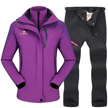 Traje de esquiar Esquí Traje for los conjuntos de chaqueta de ...