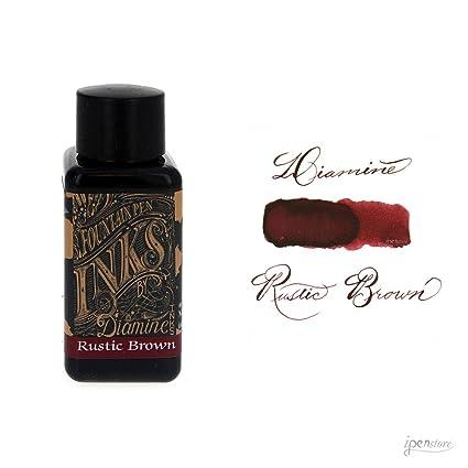 amazon com diamine 30 ml bottle fountain pen ink rustic brown