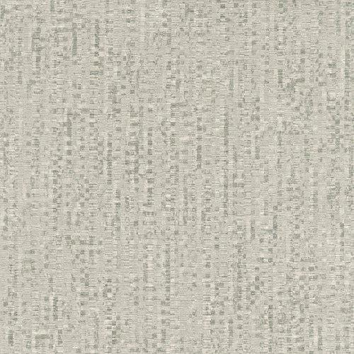 Warner 2807-2005 Pizazz Taupe Faux Paper Weave Wallpaper