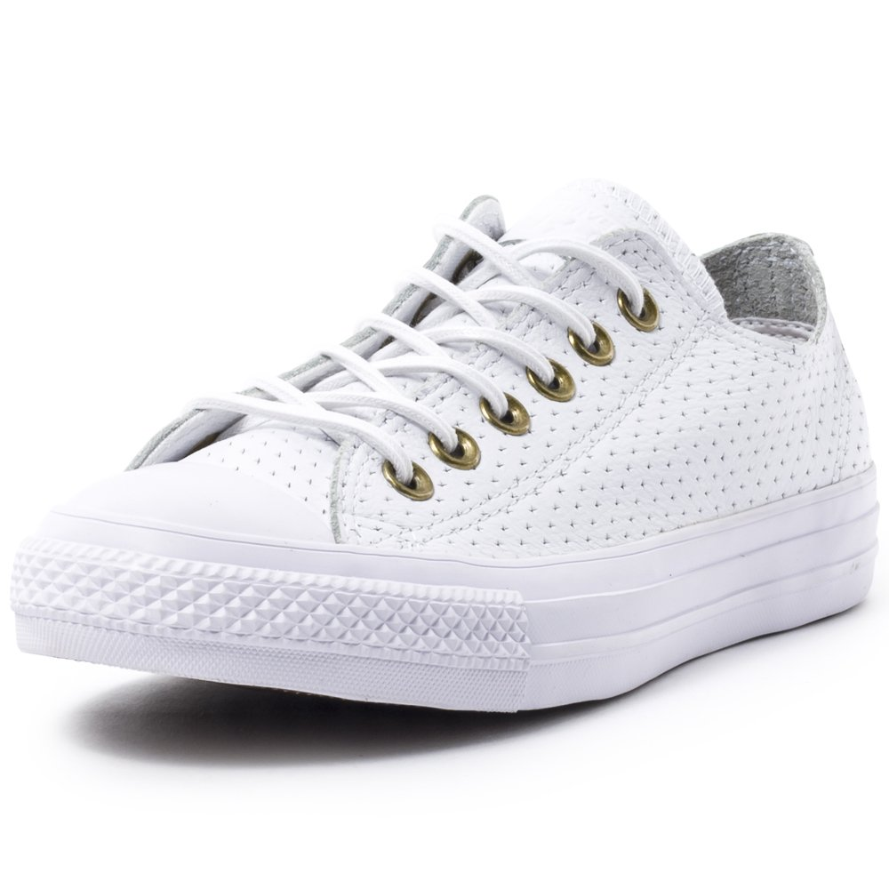 Converse Chuck Taylor All Star Core Ox B011JISS00 8 US Men / 10 US Women|White/Biscui