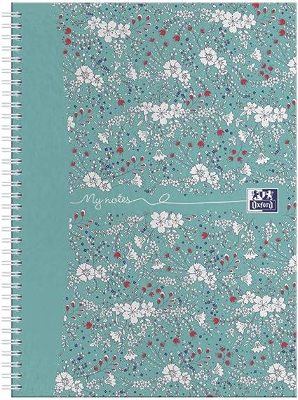 Oxford Floral - Juego de cuadernos (A5, tapa dura), diseño de ...