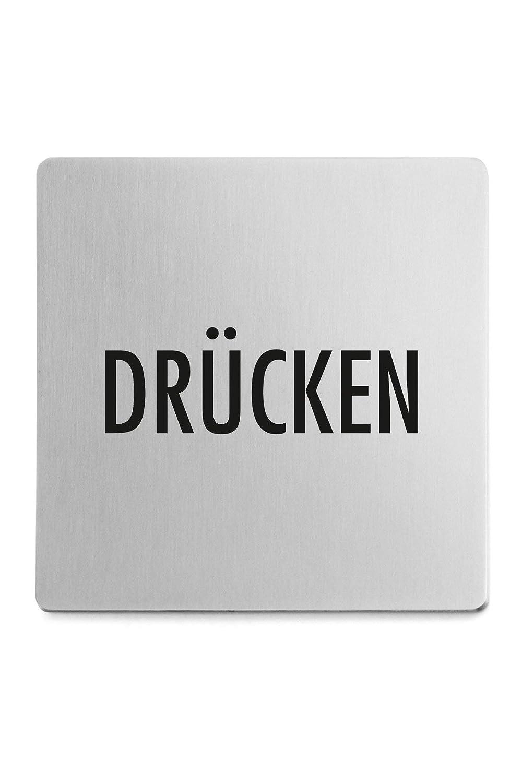 ZACK 50722 Indici - Cartel indicador de Empujar (en alemán ...