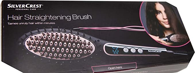 Silvercrest - Cepillo alisador de pelo (50 W): Amazon.es ...