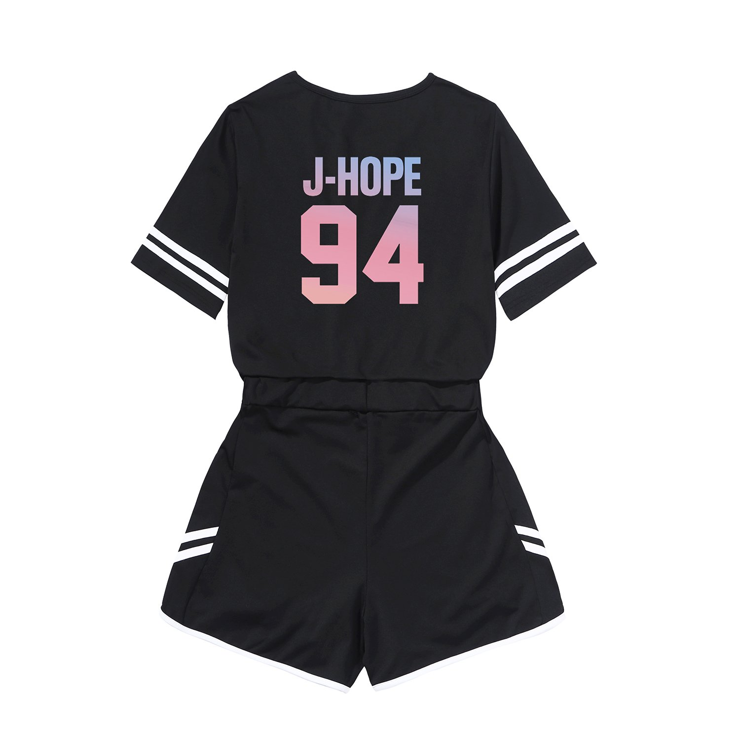 3503c10e9 Kpop BTS 2PCS Love Yourself T-Shirts + Shorts Sets Two Piece Suit Outfits  at Amazon Women's Clothing store: