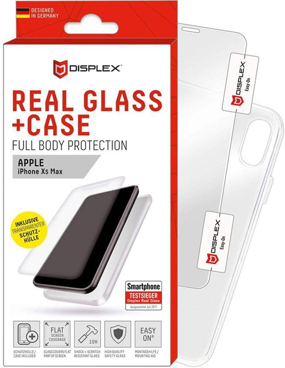 Displex 00963 Real Glass Case Schutzfolie Und Hülle Für Apple Iphone Xs Max