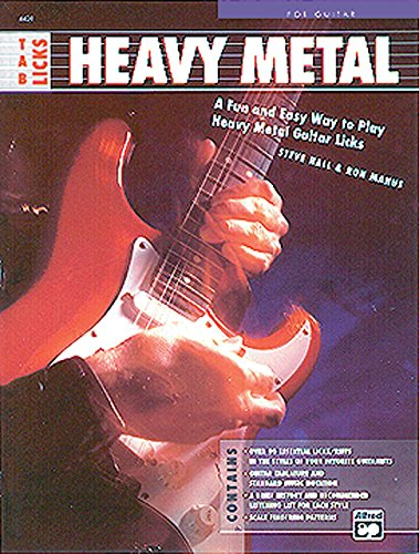 TAB Licks -- Heavy Metal: A Fun and Easy Way to Play Heavy Metal Guitar Licks