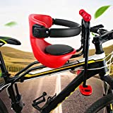 Acelectronic Front Mount Child Bicycle Seat,Safety Stable Baby Kids Children Bike Front Seat Chair Carrier Sport Seats Saddle Cushion,Aged 8 Months to 5 Years