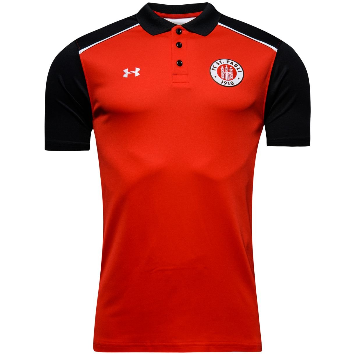 2016-2017 St Pauli Team Polo Shirt (Red): Amazon.es: Deportes y ...