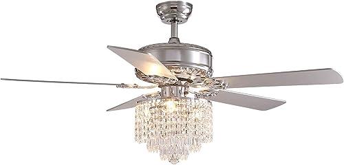 CROSSIO Crystal Ceiling Fan