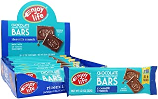 product image for Enjoy Life Rice Milk Crunch Bars, 12 ea, Net WT 13.44oz