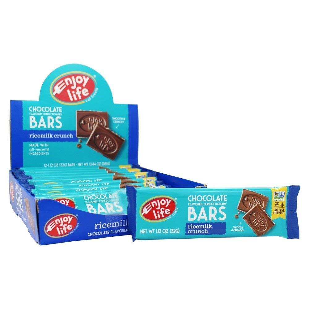 Enjoy Life Rice Milk Crunch Bars, 12 ea, Net WT 13.44oz