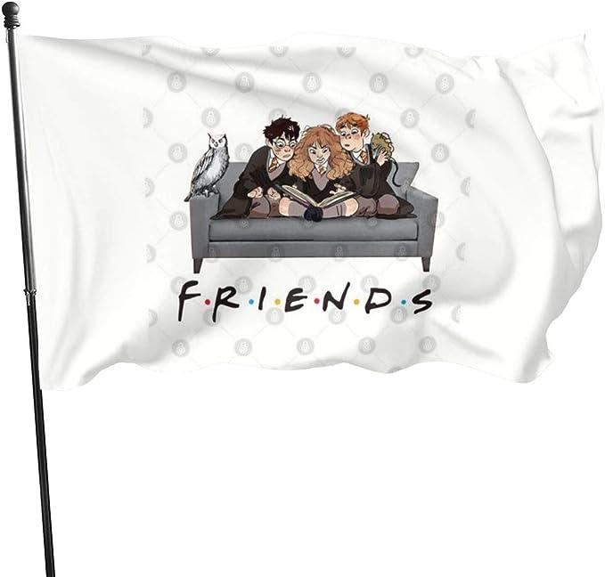 Banderas de bandera N/F Amigos Harry Potter Ron y Hermione ...