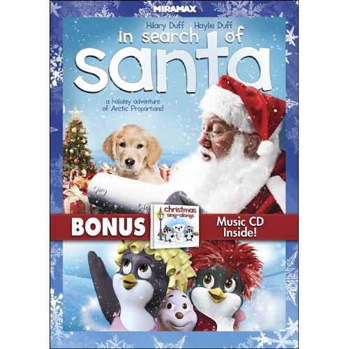 In Search of Santa with Bonus CD by Voice of Hilary Duff (The Duff Movie Dvd)