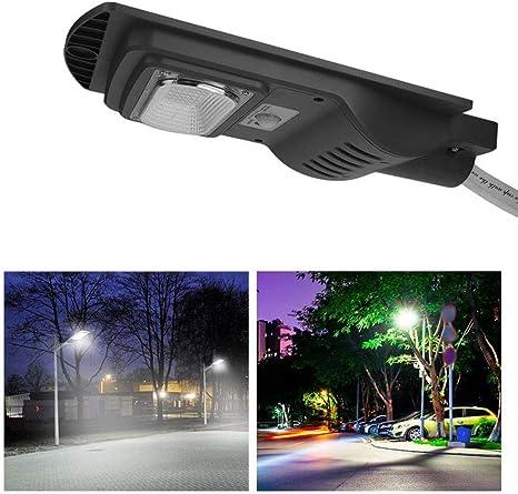 Habitación Escalera 48W LED Luz de Pared con energía Solar Cuerpo Humano Sensor de Radar Sensor de Puerta de jardín Lámpara de Pared Dormitorio: Amazon.es: Deportes y aire libre
