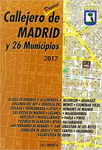 Callejero de Madrid y 26 municipios 2017: Amazon.es ...