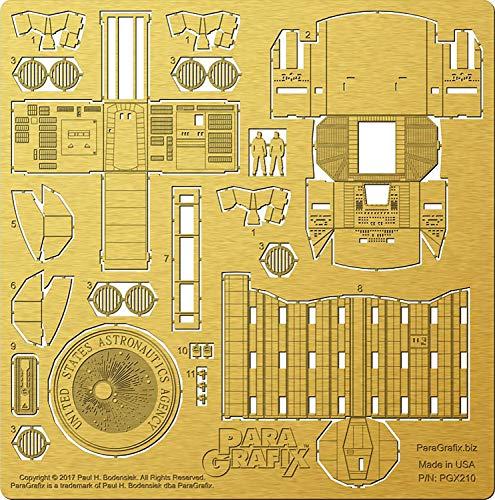 PGX210 メビウスモデル 1/144 ディスカバリー号(XD-1) コクピット&エアロック エッチングパーツセット