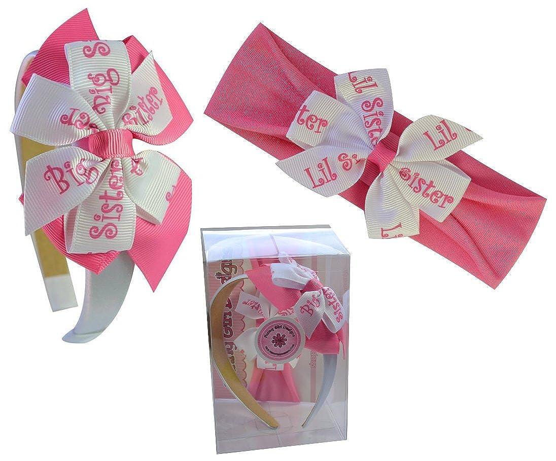 Amazon.com: Big Sister & Little Sister Matching Headband Gift Box ...