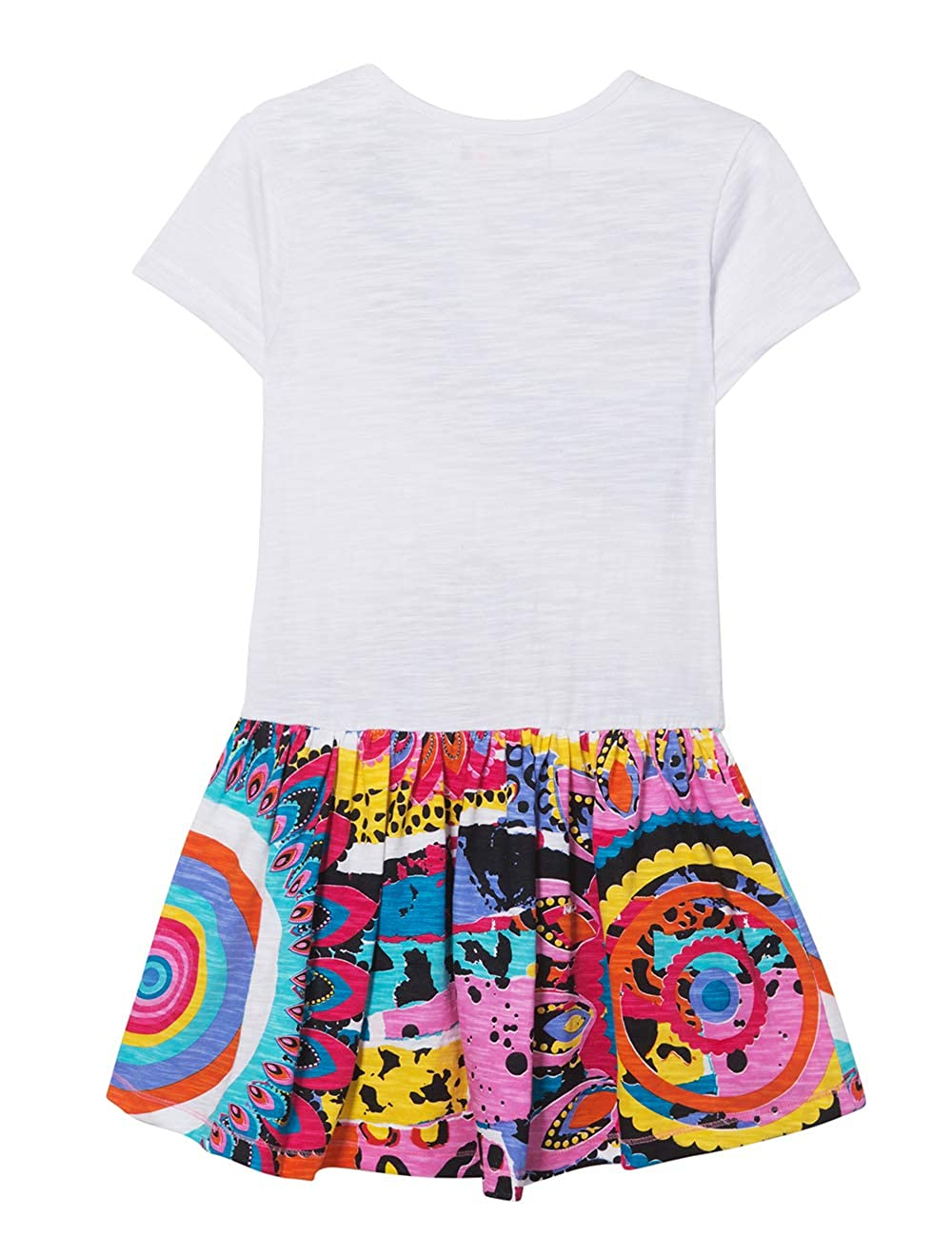 Desigual Girl Knit Dress Short Sleeve Vest/_wilminton Vestito Bambina