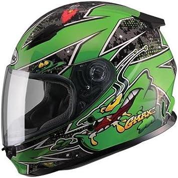 Gmax GM49Y Alien Youth Kids Full Face Motorcycle Helmet