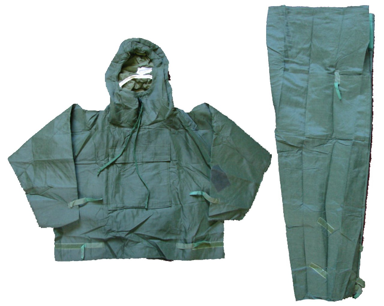 Military Outdoor Clothing Never Issued UK OD Chemical Suit, Small