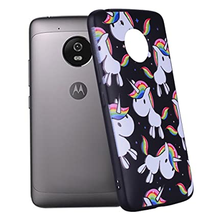 Yunbaozi Funda Motorola Moto G5 Embossing Case Carcasa Suave ...