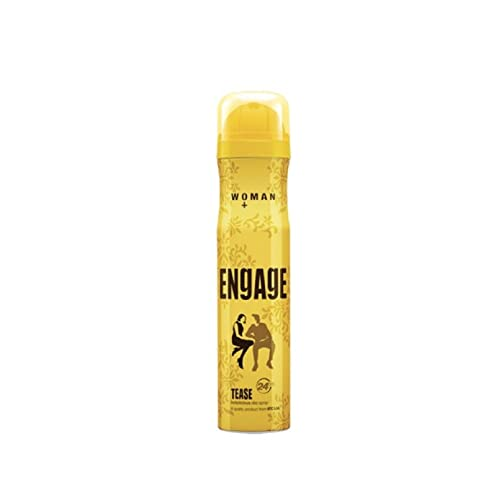 Engage Woman Deodorant, Tease, 150ml / 165ml (Weight May Vary)