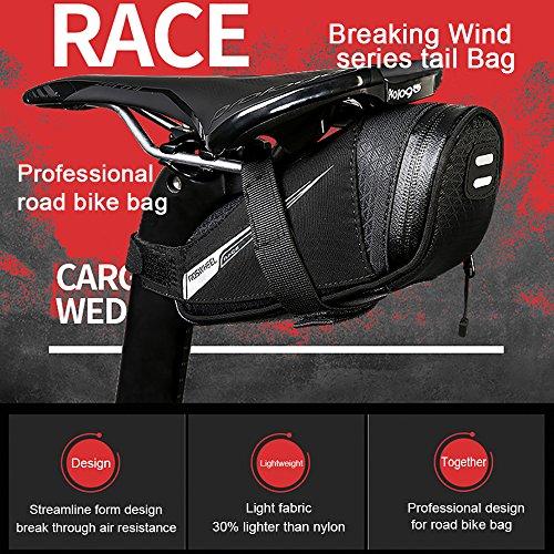 Roswheel Professional Road Bike Bag Bike Saddle Bag Bicycle Seat Storage Bags by Roswheel (Image #1)