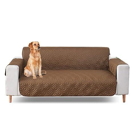 PETCUTE Funda de Sofa 2 plazas Cubre Sofas Antideslizantes Fundas para Sofa 2 plazas Cubre Sofas para Mascotas
