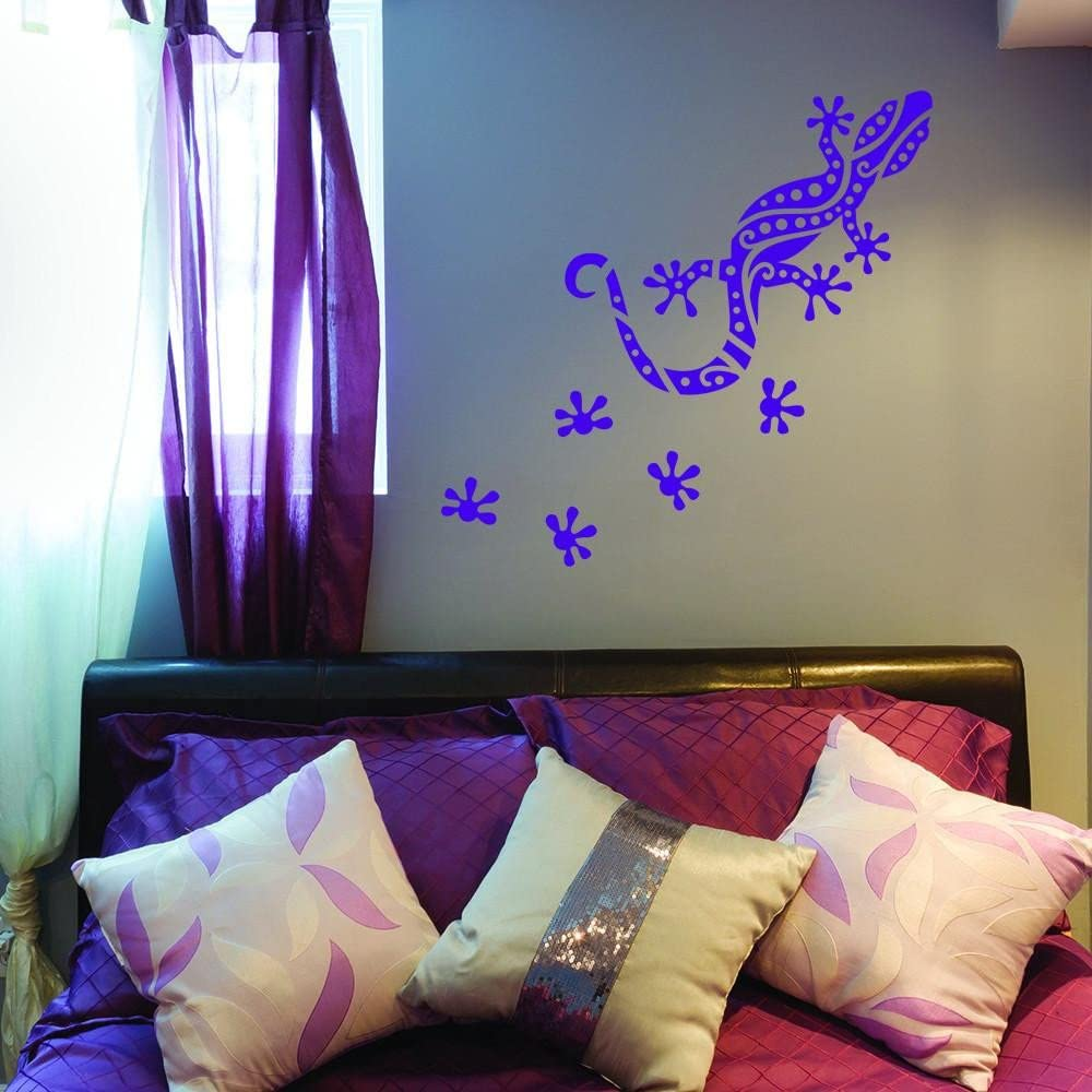 Details about  /Coloful Geckos Highest Quality Wall Decal Sticker