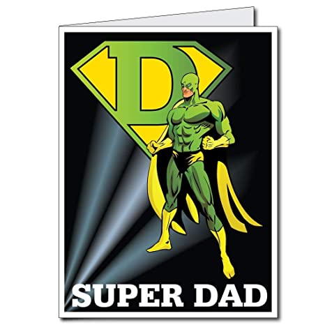 Amazon.com: 2 x3 gigante super hero tarjeta de ...