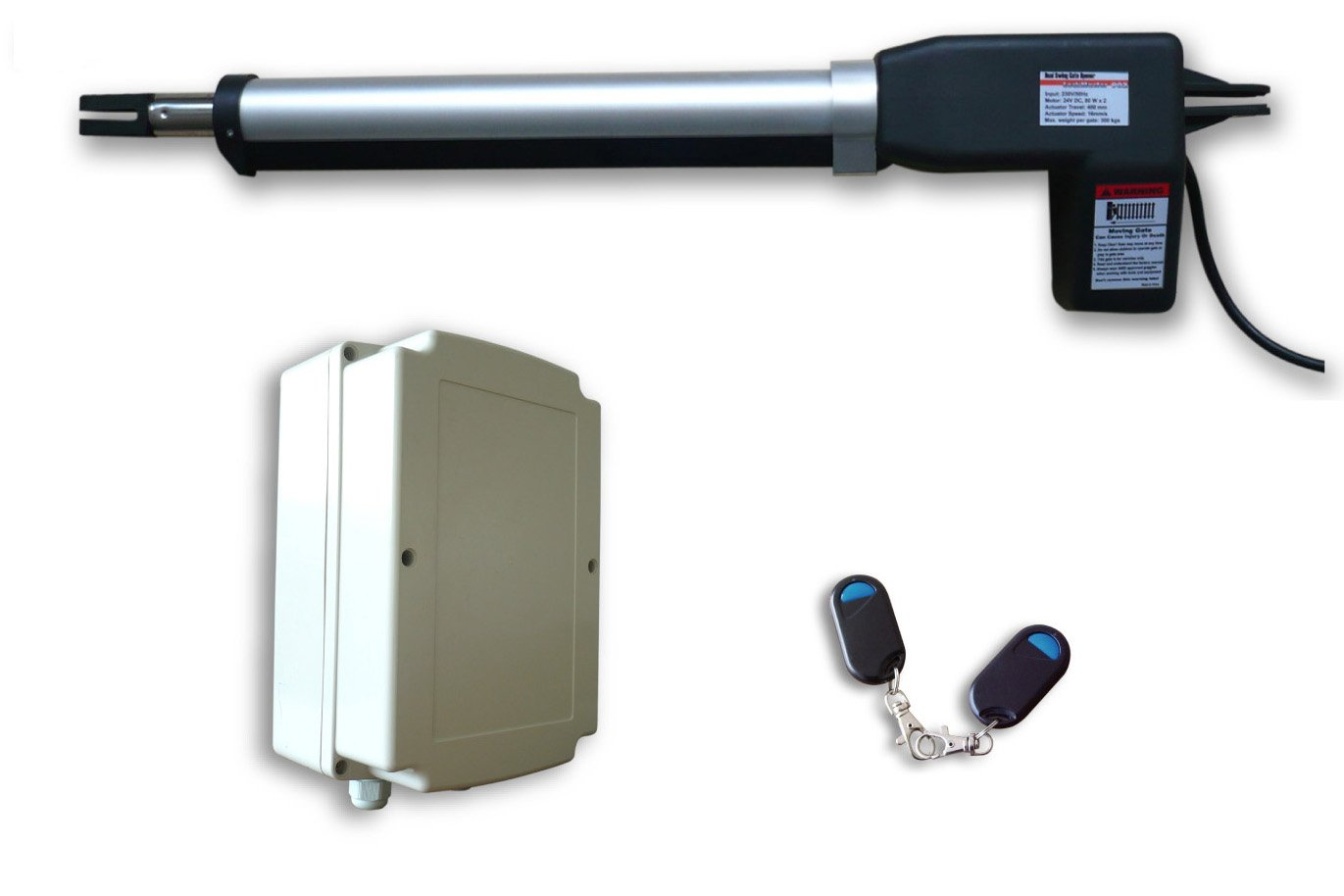ALEKO AS600 Basic Electric Gate Opener Operator for Single Swing Gate up to 10-feet Long and 660-pounds by ALEKO (Image #1)