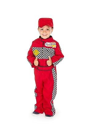 Amazon Com Childrens Boys Girls Red F1 Racing Car Driver Fancy