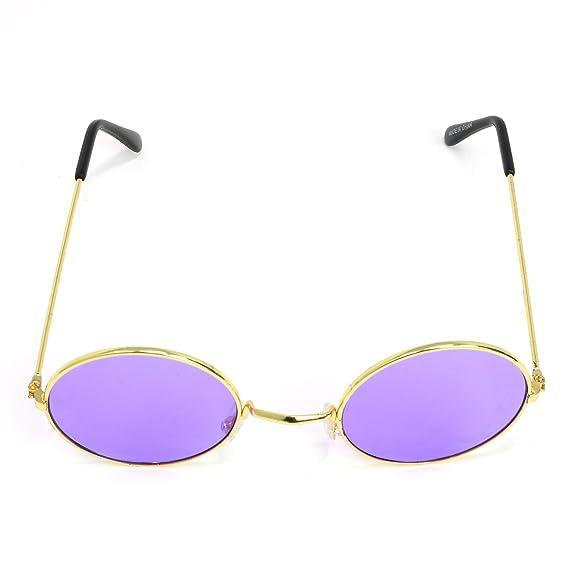 Amazon.com: Skeleteen John Lennon Hippie Gafas de sol ...