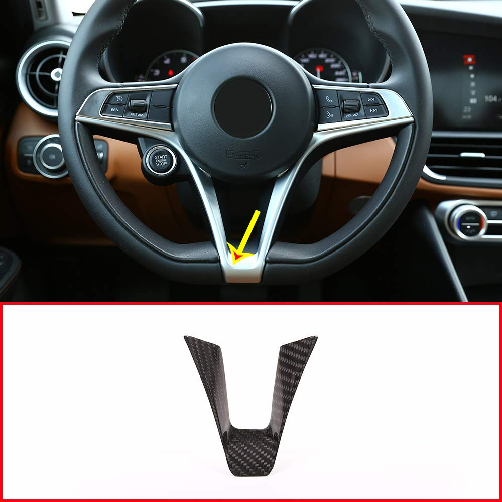 YIWANG Carbon Fiber Style ABS Console Gear Panel Frame Cover Trim for Mercedes Benz E-Class W213 2016 2017 2018 2019