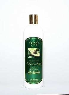 Aguacate Hidratante Cara, manos y cuerpo Lotion leche Razac 500 ml – para piel seca y muy seca tipos – no dejar piel…