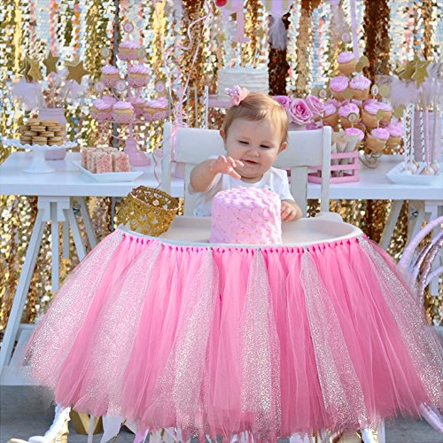 Aytai-High-Chair-Decoration-Handmade-39-Tulle-Table-Skirt-Glitter-Chair-Skirt-Baby-1st-Birthday-Party-Supplies-Cute-Baby-Shower-Decoration