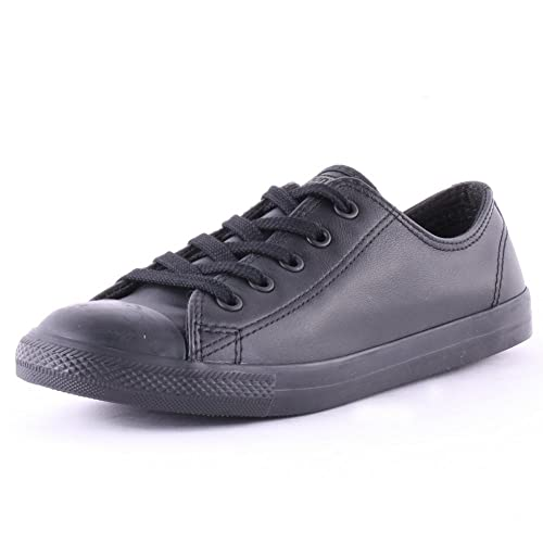 638432076e3535 CONVERSE womens Chuck Taylor All Star DAINTY Black Low top trainers ...