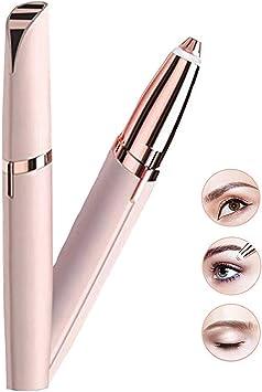 La mejor herramienta para el recortador de cejas sin dolor de precisión y removedor de vello de precisión. Maquinilla de afeitar para labios faciales, vello facial para hombres, mujeres: Amazon.es: Salud y