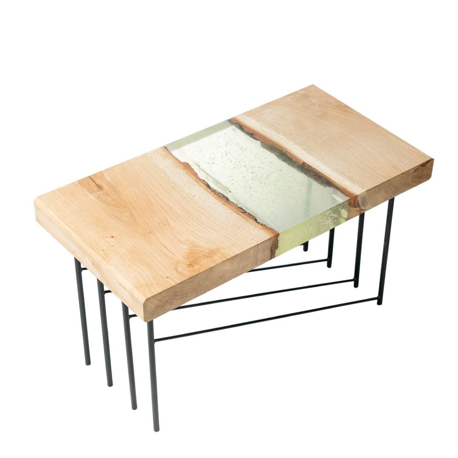 Amazon Com Handmade Small Coffee Table Epoxy River Table Handmade