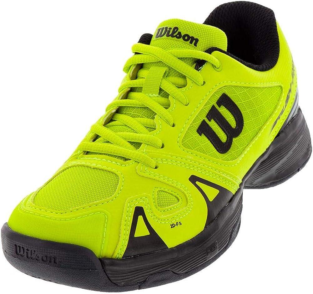 Little Kid//Big Kid Wilson Rush Pro JR Tennis Shoe