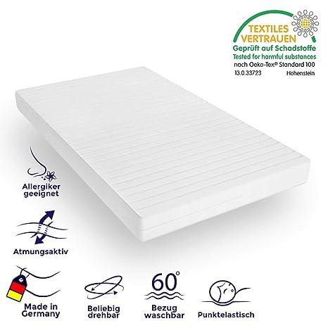 Mister Sandman Orthopädische 7 Zonen Matratze Für Besseren Schlaf Kaltschaummatratze H2 H3 Mit Ergonomischen Liegezonen Höhe 15cm 140x200 Cm 60 X
