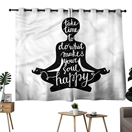 Amazon.com: Pattern Darkening Curtains Grommet Curtain for ...