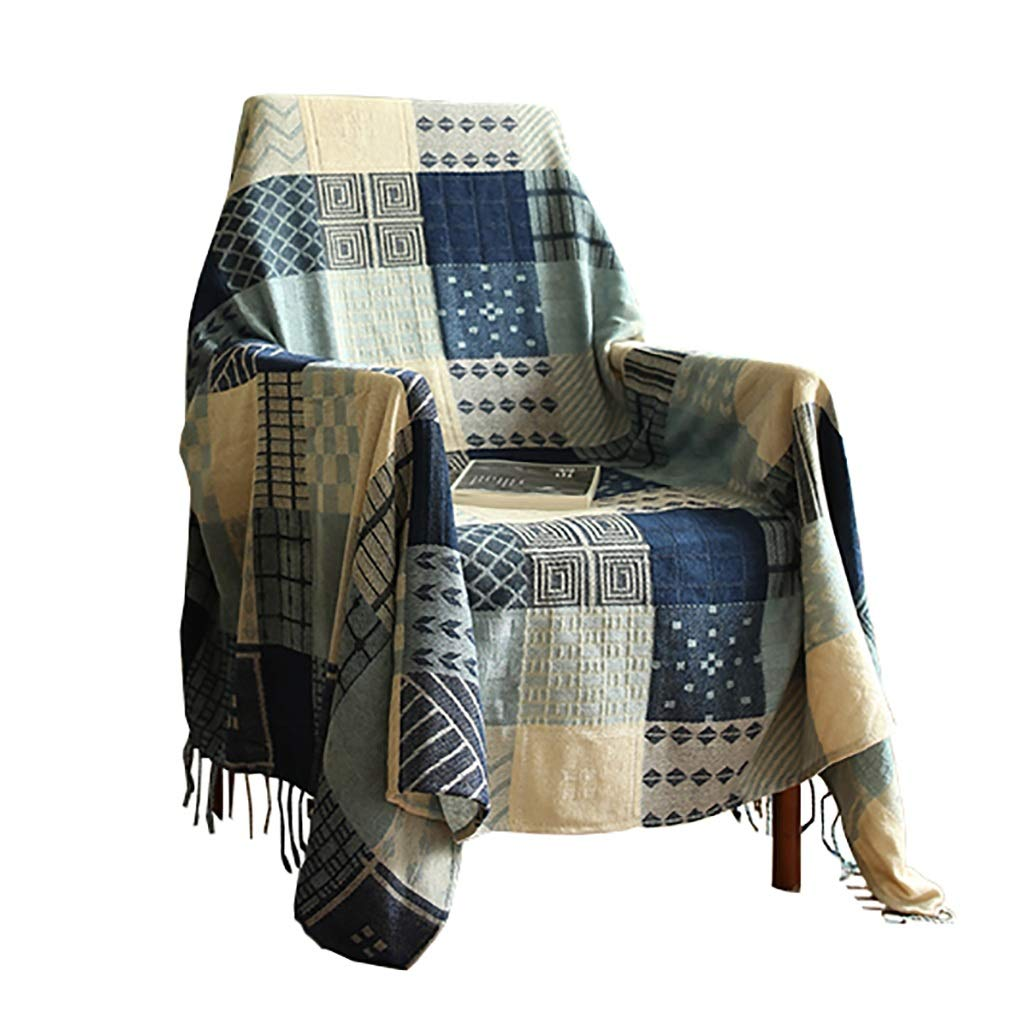 ソファカバー ソファータオル四季一般的な味方されたソファー毛布シングルまたはダブルソファーカバーに適した防塵ソファー布 (色 : A, サイズ さいず : 150x190cm) 150x190cm A B07PSK4K2N
